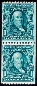 Sale Number 645, Lot Number 269, 1902-08 Issue1c Blue Green, Coil (316), 1c Blue Green, Coil (316)