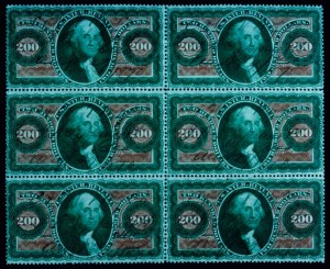 Sale Number 645, Lot Number 363, Revenues$200.00 Green and Red, U.S.I.R. (R102c), $200.00 Green and Red, U.S.I.R. (R102c)