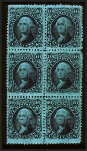 Sale Number 660, Lot Number 88, 1867-68 Grilled Issues10c Dark Green, E. Grill (89), 10c Dark Green, E. Grill (89)