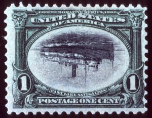 Sale Number 692, Lot Number 352, Pan-American Issue1c Pan-American, Center Inverted (294a), 1c Pan-American, Center Inverted (294a)