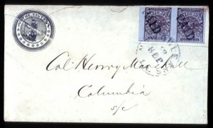 Sale Number 708, Lot Number 453, Confederate StatesNew Orleans, La., 5c Brown on Blue (62X4), New Orleans, La., 5c Brown on Blue (62X4)