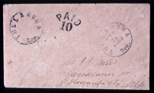 Sale Number 708, Lot Number 455, Confederate StatesTullahoma, Tenn., 10c Black (111XU1), Tullahoma, Tenn., 10c Black (111XU1)