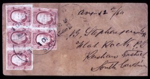 Sale Number 708, Lot Number 462, Confederate States2c Pale Red (8a), 2c Pale Red (8a)