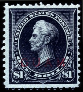 Sale Number 708, Lot Number 471, U.S. Possessions-----, 1899, $1.00 Black, Ty. II, Overprint (13), -----, 1899, $1.00 Black, Ty. II, Overprint (13)