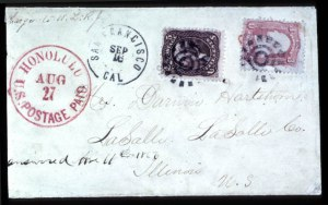 "Sale Number 708, Lot Number 473, U.S. Possessions-----, ""Honolulu U.S, -----, ""Honolulu U.S"