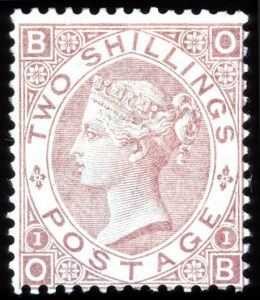 Sale Number 708, Lot Number 539, General Foreign1880, 2sh Pale Brown (56), 1880, 2sh Pale Brown (56)