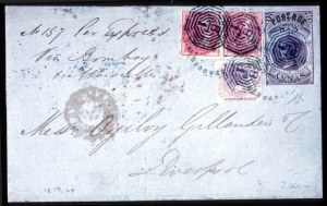 Sale Number 708, Lot Number 548, General Foreign-----, 1866, 6a Violet, Type I (29), -----, 1866, 6a Violet, Type I (29)