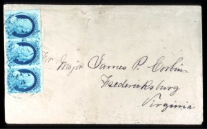 Sale Number 724, Lot Number 40, 1851-56 Issue1c Blue, Ty. Ib, II (5A, 7), 1c Blue, Ty. Ib, II (5A, 7)