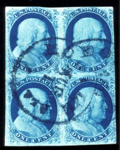Sale Number 724, Lot Number 48, 1851-56 Issue1c Blue, Ty. IlIa (8A), 1c Blue, Ty. IlIa (8A)