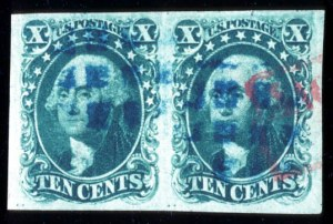 Sale Number 724, Lot Number 60, 1851-56 Issue10c Green, Ty. I (13), 10c Green, Ty. I (13)