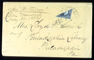 Sale Number 724, Lot Number 69, 1851-56 Issue12c Black, Diagonal Half Used as 6c (17a), 12c Black, Diagonal Half Used as 6c (17a)