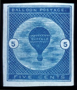Sale Number 737, Lot Number 706, Air Post5c Buffalo Balloon (CL1), 5c Buffalo Balloon (CL1)