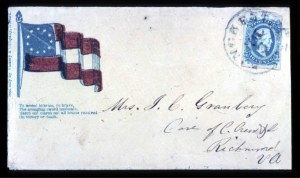 Sale Number 737, Lot Number 791, Confederate States10c Milky Blue (11a), 10c Milky Blue (11a)