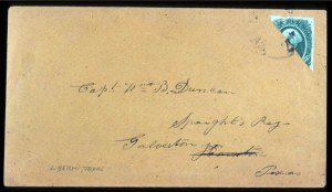 Sale Number 737, Lot Number 795, Confederate States20c Green, Diagonal Half Used as 10c (13c), 20c Green, Diagonal Half Used as 10c (13c)