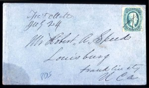 Sale Number 737, Lot Number 805, Confederate StatesForwarded By E.H. Cushing, Forwarded By E.H. Cushing