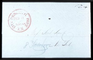 Sale Number 745, Lot Number 208, City Despatch PostCity Despatch Post, N.Y., Feb, City Despatch Post, N.Y., Feb