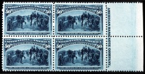 Sale Number 745, Lot Number 664, Columbian Issue50c Columbian (240), 50c Columbian (240)