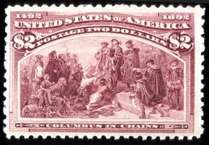 Sale Number 745, Lot Number 669, Columbian Issue$2.00 Columbian (242), $2.00 Columbian (242)