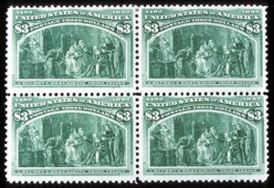 Sale Number 745, Lot Number 674, Columbian Issue$3.00 Columbian (243), $3.00 Columbian (243)