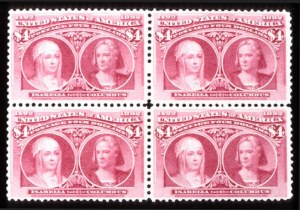 Sale Number 745, Lot Number 678, Columbian Issue$4.00 Columbian (244), $4.00 Columbian (244)