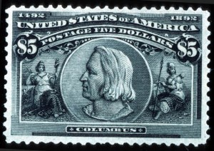 Sale Number 745, Lot Number 682, Columbian Issue$5.00 Columbian (245), $5.00 Columbian (245)