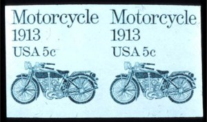 Sale Number 745, Lot Number 836, Later Issues5c Motorcycle Coil, Imperforate Pair (1899a), 5c Motorcycle Coil, Imperforate Pair (1899a)