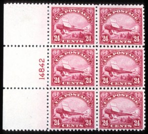 Sale Number 745, Lot Number 847, Air Post24c Carmine, 1923 Air Post (C6), 24c Carmine, 1923 Air Post (C6)