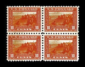 Sale Number 760, Lot Number 1510, 1904-09 thru Later Issues10c Panama-Pacific, Perf 10 (404), 10c Panama-Pacific, Perf 10 (404)