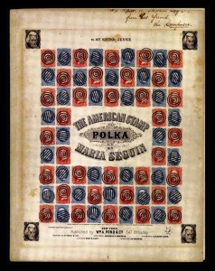 Sale Number 761, Lot Number 1, 3c 1861-68 IssuesThe American Stamp Polka, By Maria Seguin, The American Stamp Polka, By Maria Seguin
