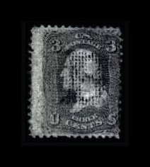 Sale Number 761, Lot Number 1112, 1867-68 Grilled Issue3c Rose, C. Grill (83), 3c Rose, C. Grill (83)
