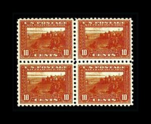 Sale Number 761, Lot Number 1369, 1898 Trans-Mississippi thru Washington-Franklins10c Panama-Pacific, Perf 10 (404), 10c Panama-Pacific, Perf 10 (404)