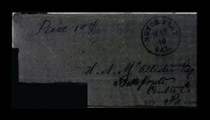 Sale Number 761, Lot Number 639, Western and Territorial MailsDutch Flat Cal. May 16, Dutch Flat Cal. May 16