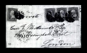 Sale Number 761, Lot Number 93, 3c 1861-68 Issues3c Rose, F. Grill (94), 3c Rose, F. Grill (94)