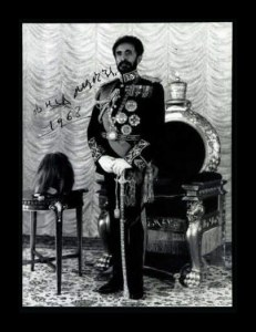 Sale Number 764A, Lot Number 342, Royalty and Military LeadersHaile Selassie, Haile Selassie