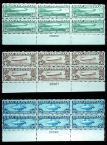 Sale Number 767, Lot Number 300, Air Post65c-$2.60 Graf Zeppelin (C13-C15), 65c-$2.60 Graf Zeppelin (C13-C15)
