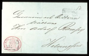 Sale Number 767, Lot Number 461, General ForeignFINLAND, 1856, 10k Rose (2), FINLAND, 1856, 10k Rose (2)
