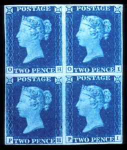Sale Number 767, Lot Number 468, General ForeignGREAT BRITAIN, 1840, 2p Blue (2, SG 5), GREAT BRITAIN, 1840, 2p Blue (2, SG 5)
