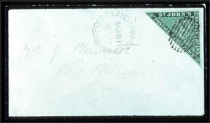 Sale Number 767, Lot Number 473, General ForeignNEWFOUNDLAND, 1860, 3p Green (11A), NEWFOUNDLAND, 1860, 3p Green (11A)