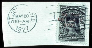 Sale Number 767, Lot Number 475, General ForeignNEWFOUNDLAND, 1927, 60c De Pinedo, Air Post (C4, SG 163), NEWFOUNDLAND, 1927, 60c De Pinedo, Air Post (C4, SG 163)