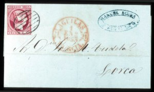 Sale Number 767, Lot Number 489, General ForeignSPAIN, 1852, 6c Carmine Rose (19), SPAIN, 1852, 6c Carmine Rose (19)