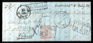 Sale Number 767, Lot Number 493, General ForeignSWEDEN, 1855, 24s Dull Red (5, Facit 5a), SWEDEN, 1855, 24s Dull Red (5, Facit 5a)