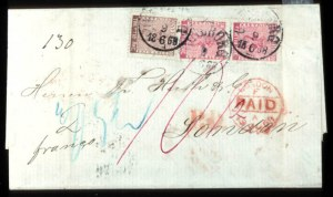 Sale Number 767, Lot Number 495, General ForeignSWEDEN, 1858, 30ö Brown, 50ö Rose (11,12), SWEDEN, 1858, 30ö Brown, 50ö Rose (11,12)