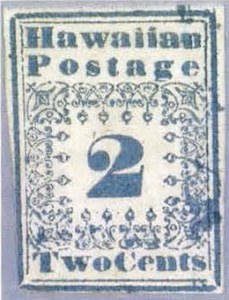 Sale Number 769, Lot Number 11, Hawaiian Missionaries Off Cover1851, 2c Blue (1), 1851, 2c Blue (1)