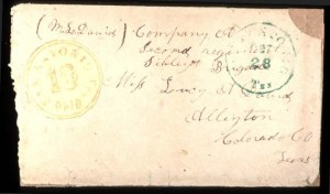 Sale Number 777, Lot Number 231, Confederate StatesSan Antonio Tex. 10c Paid, San Antonio Tex. 10c Paid