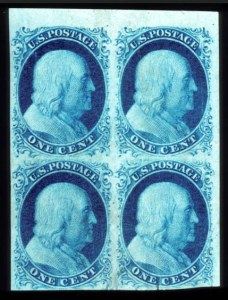 Sale Number 777, Lot Number 42, 1851-56 Issue1c Blue, Ty. II (7), 1c Blue, Ty. II (7)