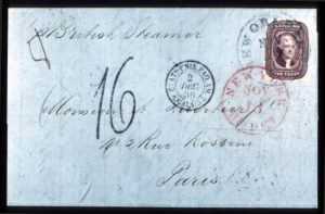 Sale Number 777, Lot Number 49, 1851-56 Issue5c Red Brown (12), 5c Red Brown (12)