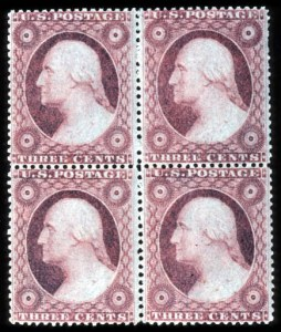 Sale Number 777, Lot Number 60, 1857-60 Issue3c Dull Red, Ty. IIa (26a), 3c Dull Red, Ty. IIa (26a)