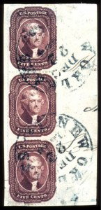 Sale Number 777, Lot Number 62, 1857-60 Issue5c Indian Red (28A), 5c Indian Red (28A)