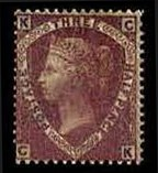Sale Number 778, Lot Number 504, Great Britain1860, 1-1/2p Lilac Rose, Bluish (31, SG 53a), 1860, 1-1/2p Lilac Rose, Bluish (31, SG 53a)