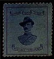 Sale Number 778, Lot Number 622, Cape of Good Hope incl. Mafeking and Vryburg Issues1900, 3p Blue on Blue, Baden-Powell (180, SG 21), 1900, 3p Blue on Blue, Baden-Powell (180, SG 21)